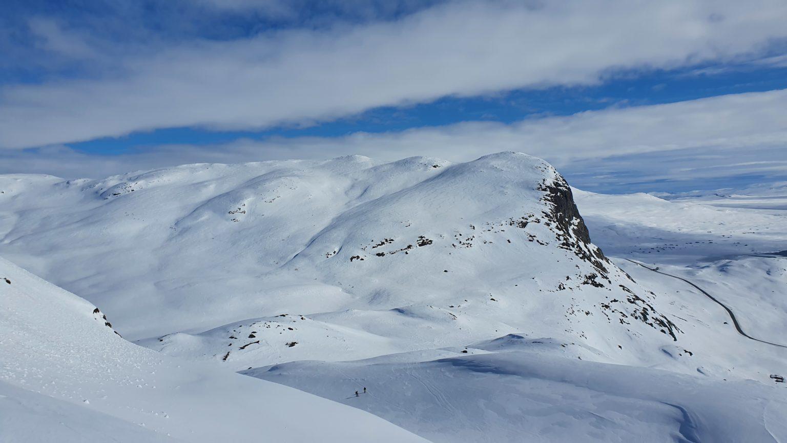 Bilde av Synshorn tatt fra Mefjellet